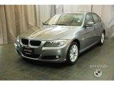 2010 Space Gray Metallic BMW 3 Series 328i xDrive Sedan #28246732