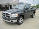 Brilliant Black Crystal Pearl Dodge Ram 1500 in 2007