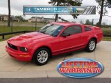 2006 Torch Red Ford Mustang V6 Premium Coupe #28196857