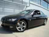 2008 Jet Black BMW 3 Series 328i Convertible #28246775