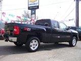 2010 Black Chevrolet Silverado 1500 LT Extended Cab 4x4 #28246778