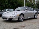 2008 Arctic Silver Metallic Porsche 911 Carrera S Coupe #92346
