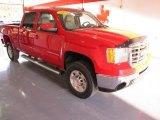 2007 Fire Red GMC Sierra 2500HD SLT Crew Cab 4x4 #28246657