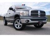 2007 Mineral Gray Metallic Dodge Ram 1500 Big Horn Edition Quad Cab 4x4 #28247379