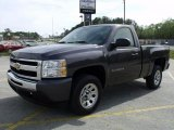 Black Granite Metallic Chevrolet Silverado 1500 in 2010
