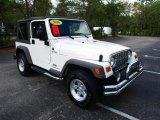 2006 Stone White Jeep Wrangler Sport 4x4 #28246695