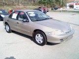 2002 Sandrift Metallic Chevrolet Cavalier Sedan #28246704