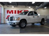 2006 Bright White Dodge Ram 1500 SLT Quad Cab #28312456