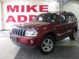 2006 Red Rock Crystal Pearl Jeep Grand Cherokee Limited #28312457