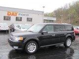 2010 Tuxedo Black Ford Flex SEL AWD #28312308