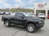 2003 Black Dodge Dakota SXT Regular Cab 4x4 #28312673