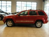 2006 Red Rock Crystal Pearl Jeep Grand Cherokee Limited 4x4 #28312805