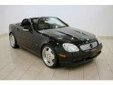 2001 Black Mercedes-Benz SLK 320 Roadster #28312817