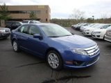 2010 Sport Blue Metallic Ford Fusion SE #28312347