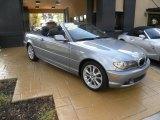 2006 Silver Grey Metallic BMW 3 Series 330i Convertible #28312719