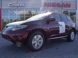 2010 Merlot Red Metallic Nissan Murano SL #28312501