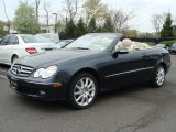 2007 Black Opal Metallic Mercedes-Benz CLK 350 Cabriolet #28312222