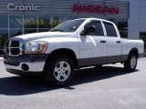 2006 Bright White Dodge Ram 1500 SLT Quad Cab #28312507