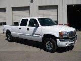 2007 Summit White GMC Sierra 2500HD Classic SLE Crew Cab 4x4 #28312238