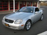 1998 Brilliant Silver Metallic Mercedes-Benz SLK 230 Kompressor Roadster #28312886