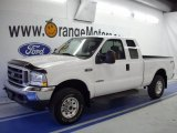 2004 Oxford White Ford F250 Super Duty XLT SuperCab 4x4 #28312420