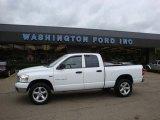 2007 Bright White Dodge Ram 1500 SLT Quad Cab 4x4 #28312582