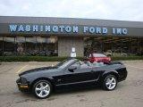 2007 Black Ford Mustang GT Premium Convertible #28312586