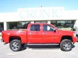 2008 Victory Red Chevrolet Silverado 1500 LTZ Crew Cab 4x4 #28312431