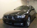 2008 Jet Black BMW 3 Series 335xi Coupe #28312287