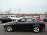 2008 Brilliant Black Audi A4 3.2 Quattro S-Line Sedan #2824534