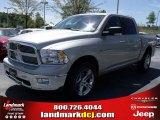 2010 Light Graystone Pearl Dodge Ram 1500 Big Horn Crew Cab #28364382