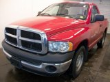 2005 Flame Red Dodge Ram 1500 ST Regular Cab #28364283