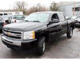 2009 Black Chevrolet Silverado 1500 LT Crew Cab 4x4 #28397615