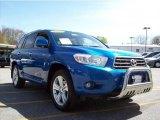 2008 Blue Streak Metallic Toyota Highlander Limited 4WD #28403179