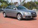 2008 Quartz Grey Metallic Audi A4 2.0T Sedan #28402735