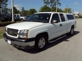2003 Summit White Chevrolet Silverado 1500 LS Extended Cab #28403285