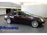 2009 Black Cherry Cadillac CTS 4 AWD Sedan #28402763