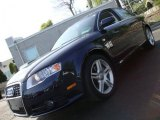 2008 Deep Sea Blue Pearl Effect Audi A4 2.0T quattro Sedan #28402938