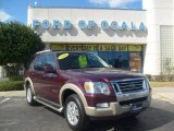2006 Dark Cherry Metallic Ford Explorer Eddie Bauer #2829995
