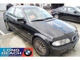 2001 Jet Black BMW 3 Series 330i Sedan #28402953