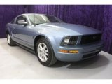 2007 Windveil Blue Metallic Ford Mustang V6 Deluxe Coupe #28402961