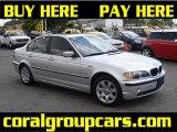 2004 Titanium Silver Metallic BMW 3 Series 325i Sedan #28403364