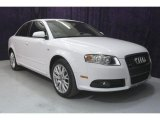 2008 Ibis White Audi A4 2.0T Special Edition Sedan #28402966