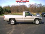 2002 Light Pewter Metallic Chevrolet Silverado 1500 Work Truck Regular Cab #28403218