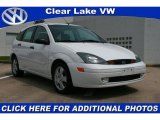 2004 Cloud 9 White Ford Focus ZX5 Hatchback #28403373