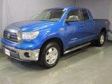 2007 Blue Streak Metallic Toyota Tundra SR5 TRD Double Cab 4x4 #28403047