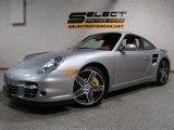 2008 GT Silver Metallic Porsche 911 Turbo Coupe #28402809