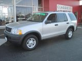 2003 Silver Birch Metallic Ford Explorer XLS 4x4 #28403074
