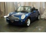2007 Lightning Blue Metallic Mini Cooper Convertible #28402665