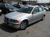 2000 Titanium Silver Metallic BMW 3 Series 323i Sedan #28402669